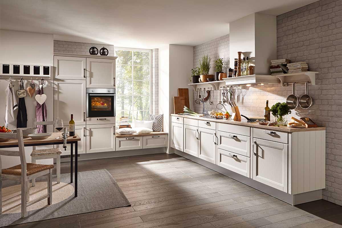 Die Landhausküche - vorwärts zurück in die Romantik - Küche ...